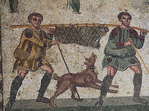 Mosaic, Villa del Casale, Piazza Armerina.