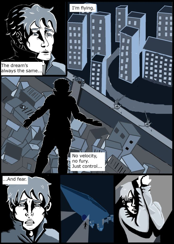 Blitz page one, photoshop by Inky and the Pen (Aine Kelly)