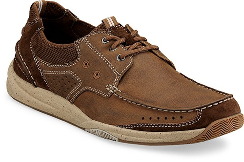 Clarks Saranac boat shoe that is more for the everyday. Really are super comfortable. Fact not opinion