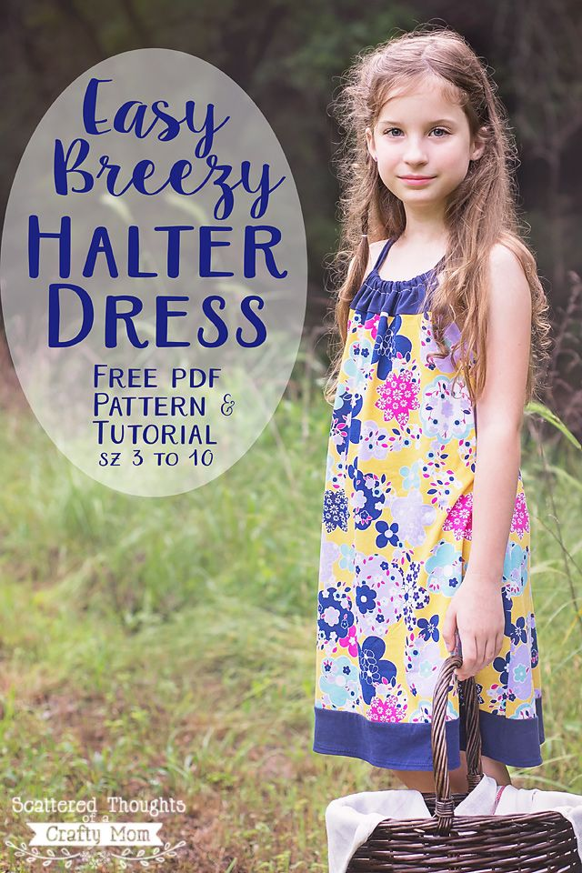Sweet Summer Sundress Tutorial - You can make it in any size! - Scattered Thoughts of a Crafty Mom