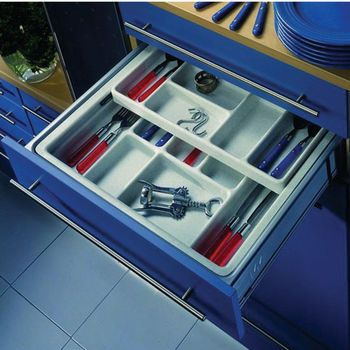 two tier kitchen drawer organizer hafele two tier cutlery or cosmetics tray drawer inserts 8609