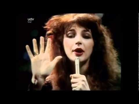 Kate Bush - Wuthering heights. She has a very quirky dancing style, but she wrote and recorded this song when she was only 18!