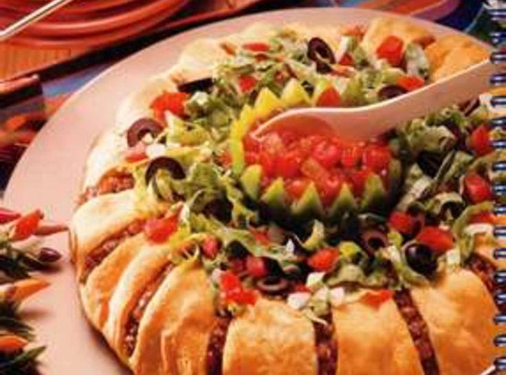 Muy Bonita Taco Ring.. MOUTH WATERING