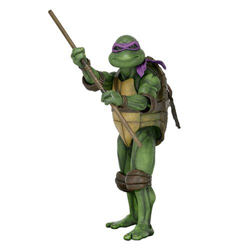 TMNT Donatello 1:4 Scale Action Figure - NECA - Teenage Mutant Ninja Turtles - Action Figures at Entertainment Earth