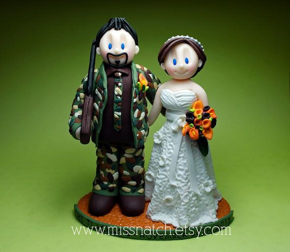 17 Best Images About Wedding Cake Topper Sports