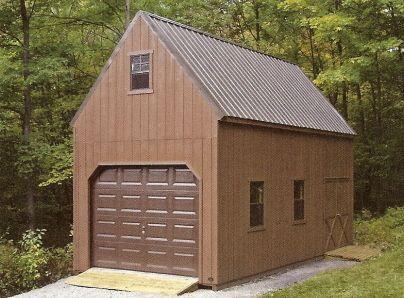 Prefab Garages With Overhead Storage
