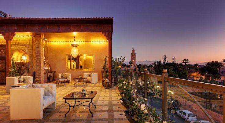 泊ってみたいホテル・HOTEL|モロッコ>マラケシュ>バイア宮殿まで1.4km、コンファレンス・パレスまで1.8km、マジョレール庭園まで1.6km>リヤド ワオ(Riad Wow)