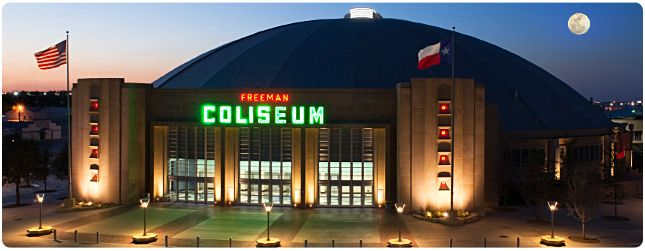 Freeman Coliseum -- San Antonio.