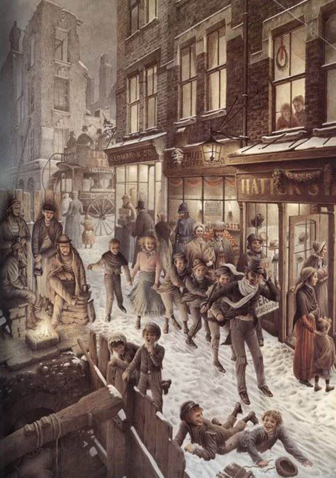 265 best images about Holidays: Dickens of a Christmas .. on Pinterest | Victorian christmas ...