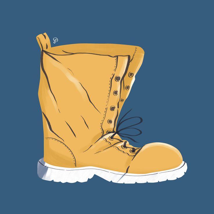 Lumberjack's boots by Dolynda