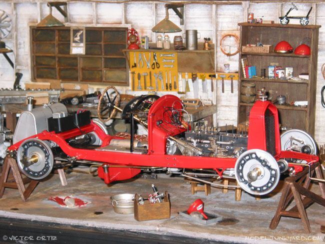 Post image for Form our Reades – Victor Ortiz's pocher 1/8 scale '32 Alfa Romeo junker and project car