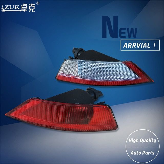 Zuk Left Right Rear Bumper Fog Light Fog Lamp Reflector For Ford Focus Classic 2009 2010 2011 2012 2013 2014 2015 With Lamp Bulb Ford Focus Lamp Bulb Fog Lamps