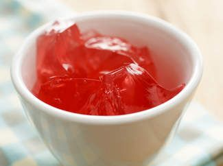 As a treat my baby Emily loves home made jelly - and its so easy to make. I know exactly what's in it, no added sugar and very cheap to make. Still gets a bit messy though!!!