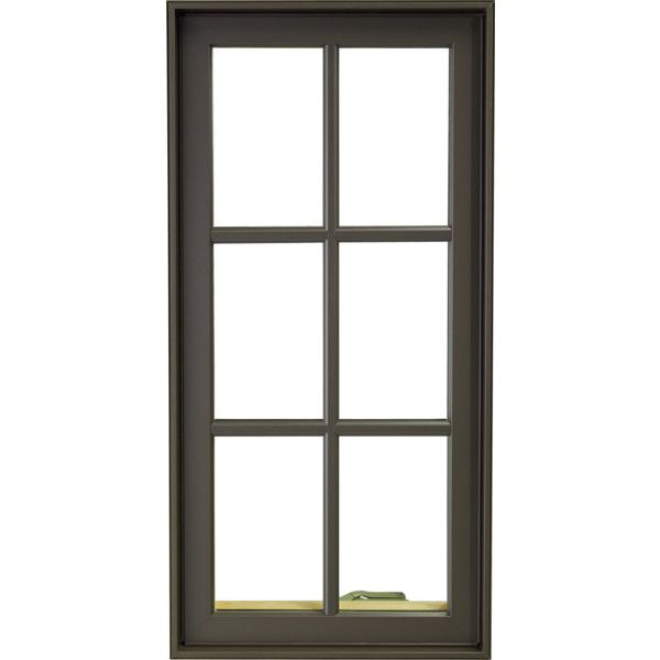 Casement Window HURD Windows Doors ❤ liked on Polyvore featuring home, home decor, windows, borders and picture frame