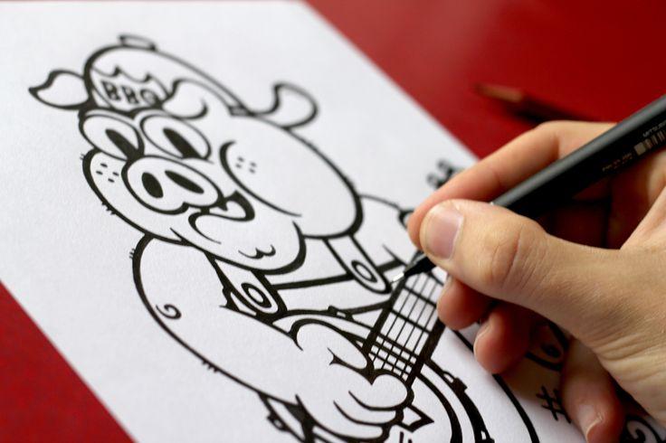 Grillstock - original designs being created