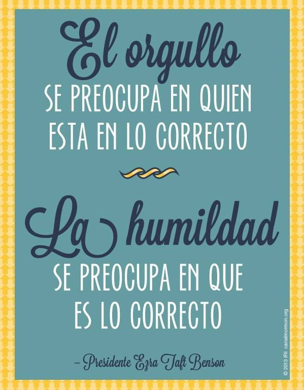 Orgullo, palabras, frases, amor, humildad