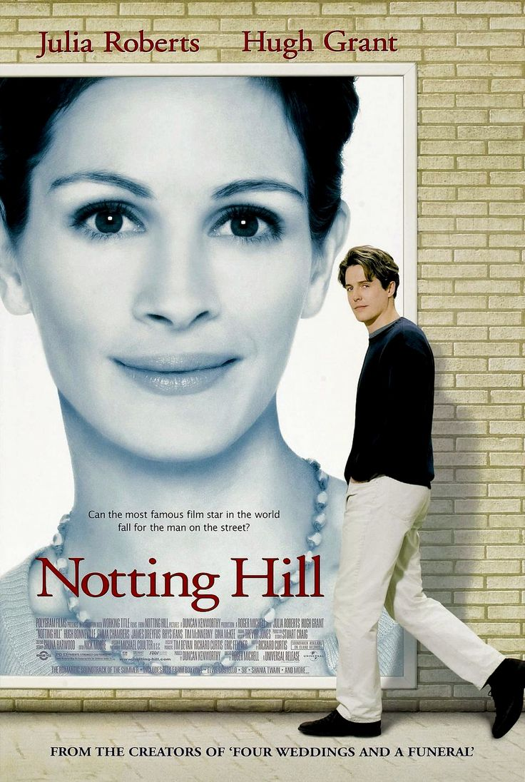 Ever wonder what it would be like to fall in love with a famous movie star? Find out in Notting Hill with Hugh Grant and Julia Roberts on Charter On Demand.