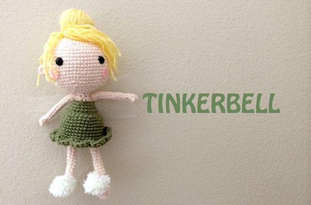 Tinker bell free crochet pattern