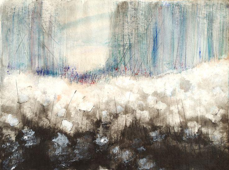 Morning Rhapsody, Bernadeta Sudnikowicz, akwarela papier 300g, 34 x 46 cm 2016