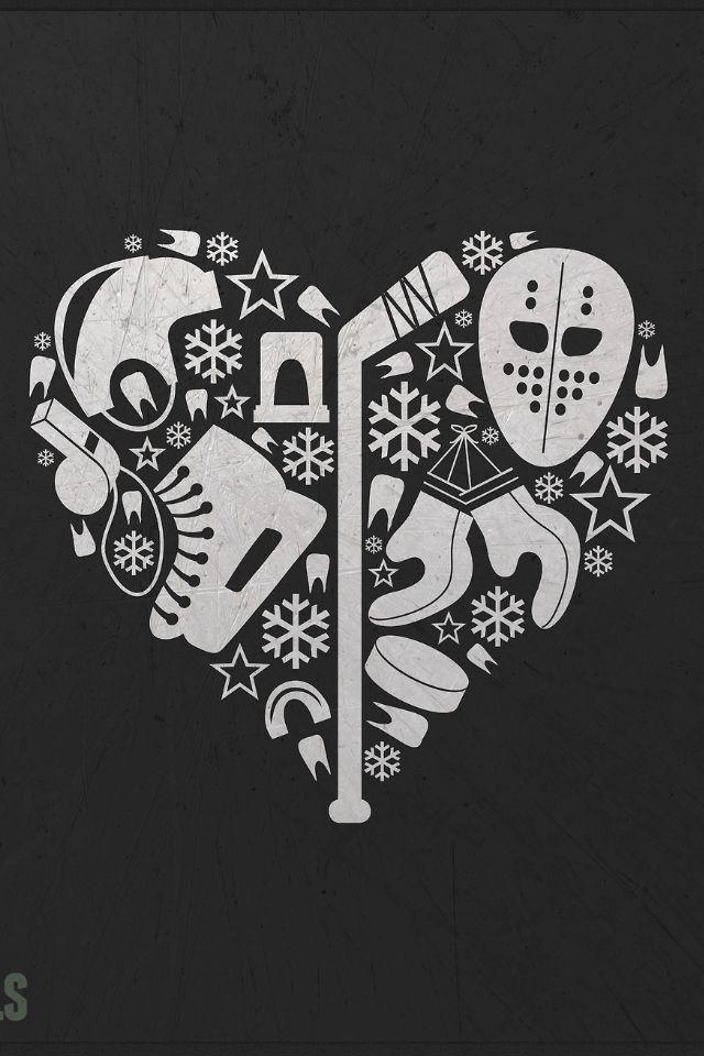 Я люблю тебя хоккей...