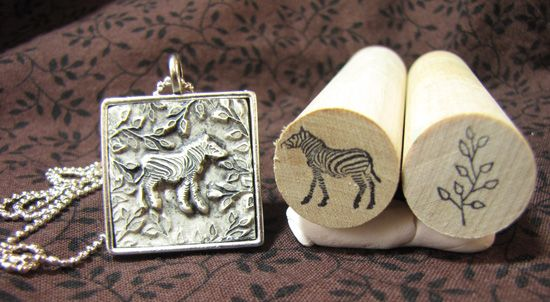 Rubber Stamps For Metal Clay 53