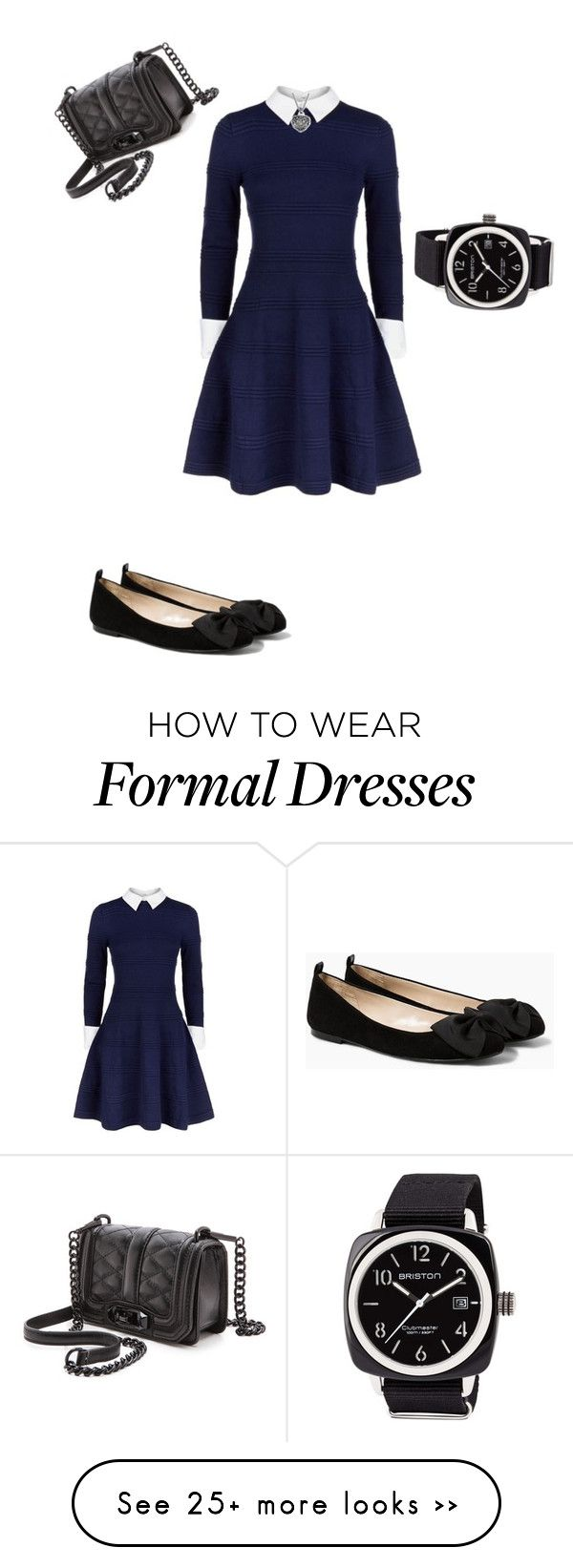 """nerd outfit : formal"" by cpfandomlover on Polyvore featuring Alice + Olivia, MANGO, Rebecca Minkoff and Briston"