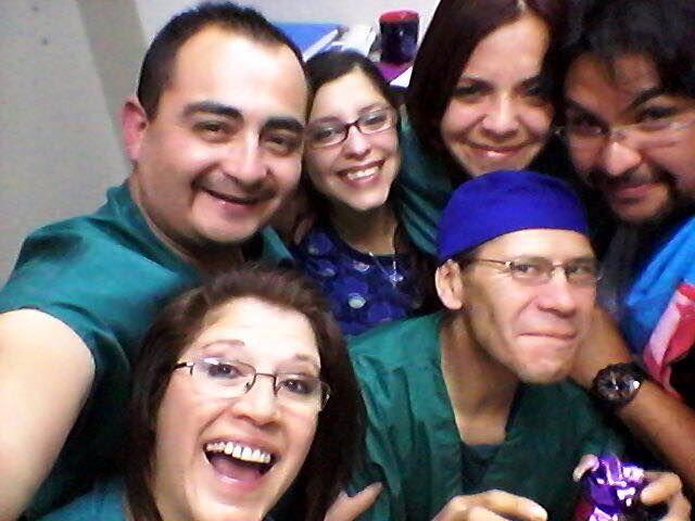 Paulina Gonzalez, Arturo Pilo, José Agustín Berríos HOSPITAL FUERZA AÉREA DE CHILE, SANTIAGO
