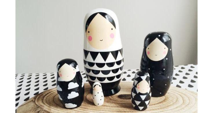 sketch inc nesting dolls graphic designs.