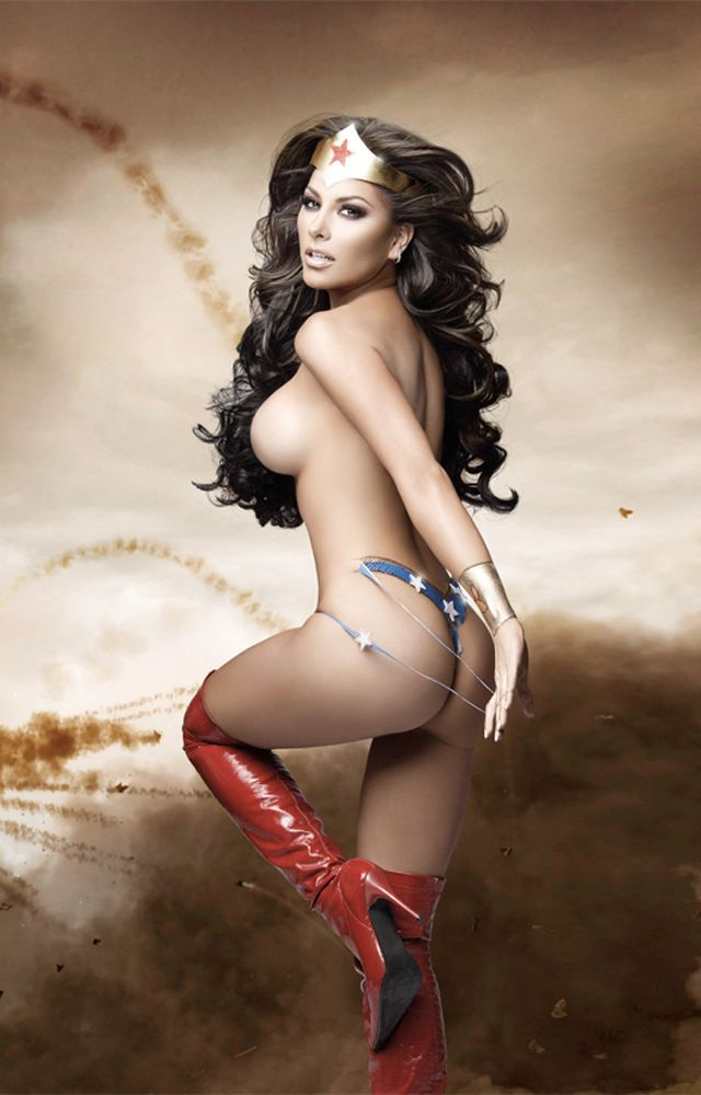 Thought differently, gaby ramirez wonder woman nude