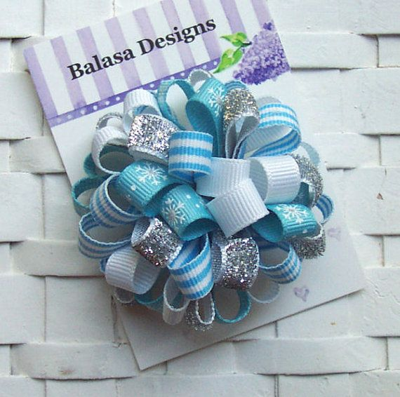 Free hair bows instructions like big bows loopy puff pop pom pom