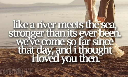 """Then- Brad Paisley... """"And I thought I loved you then..."""""""
