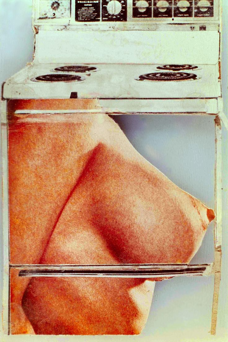 Martha Rosler; Hot Meat, Body Beautiful, or Beauty Knows No Pain series, 1969