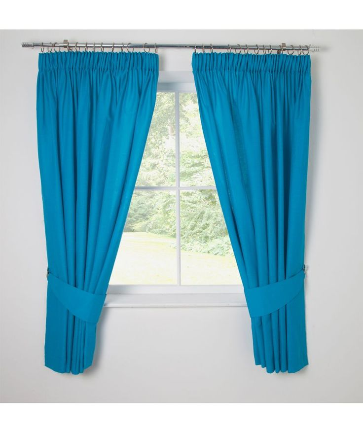Buy ColourMatch Kids' Fiesta Blue Blackout Curtains