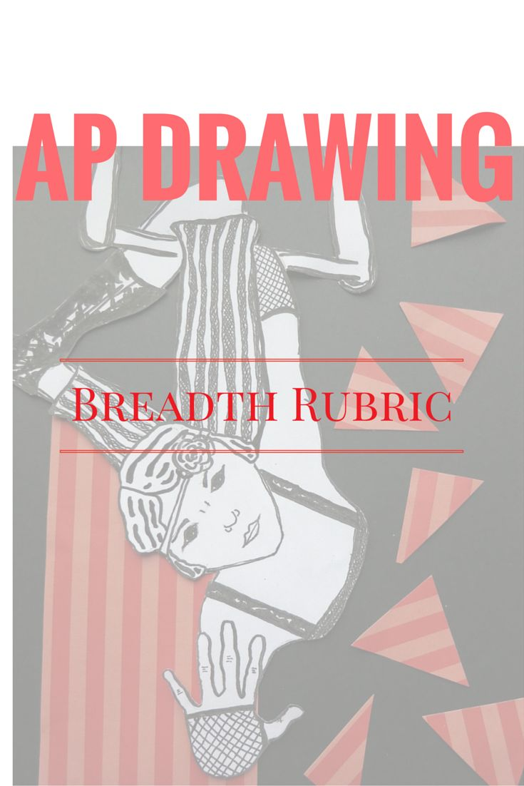 AP Drawing Breadth rubric and drawing issues tracking chart