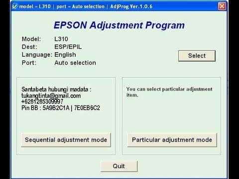 Cara Reset Memori Printer Epson L310_+6281285309997