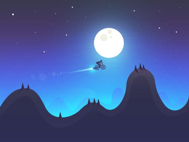 Best Calming Night Time Scene Designs - Nodegram
