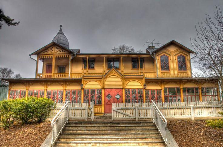 Kårhuset in Skövde, Sweden. Student house by Tamborita on DeviantArt