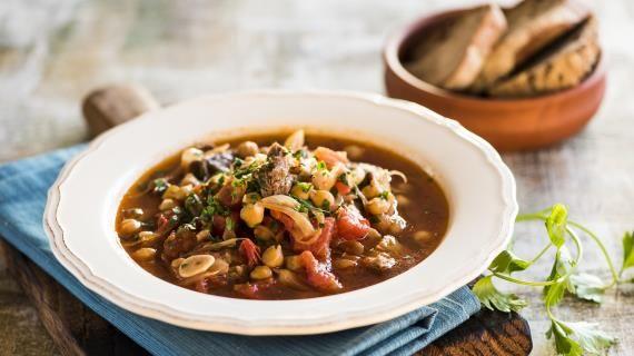 Острый суп из баранины с нутом. Пошаговый рецепт с фото на Gastronom.ru