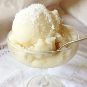 Quirky Cooking: Coconut Vanilla Sorbet