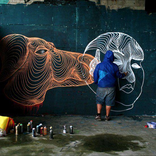 AweR The Hip-Hypnotic Graffiti Artist