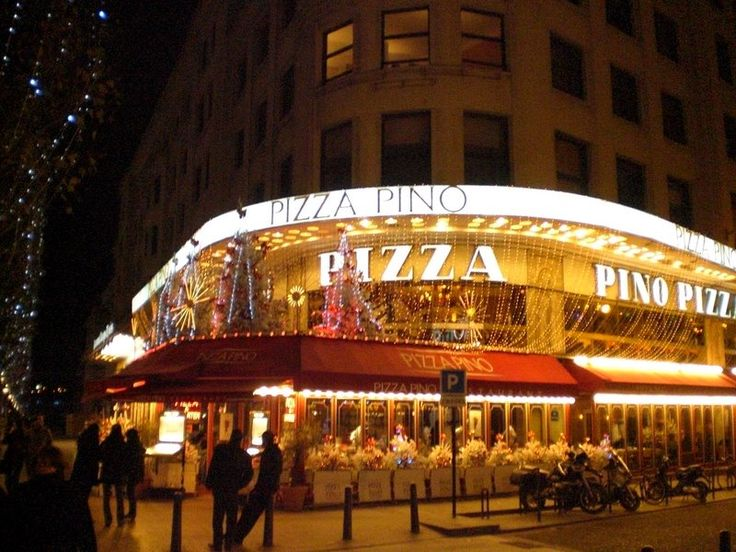 One of the best places in Paris.. (Pizza Pino)