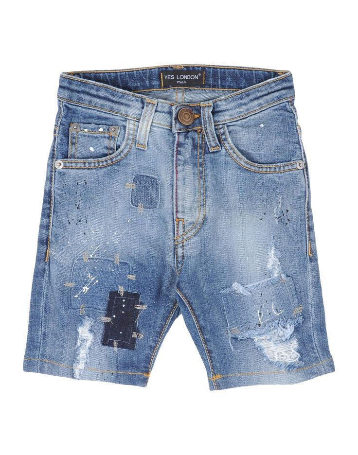 Shorts Vaqueros Yes London Niño 3-8 años en YOOX