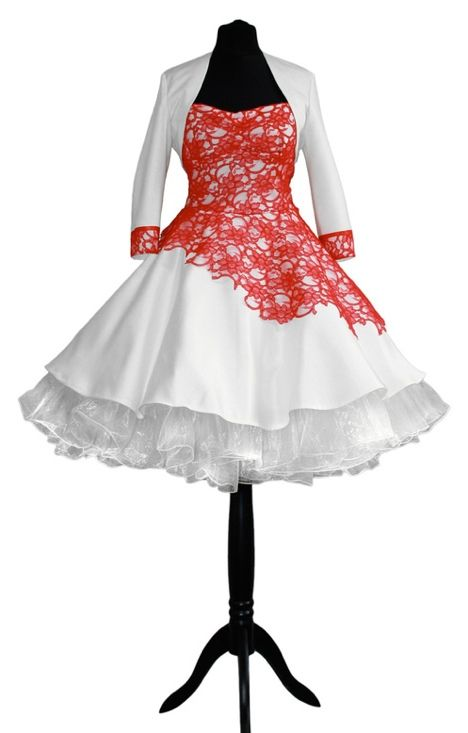 rockabilly brautkleid