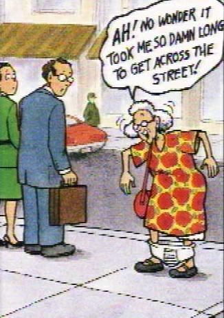 OLD LADY PICTURES AND JOKES | You know you're getting old when.....(fill in the blank)
