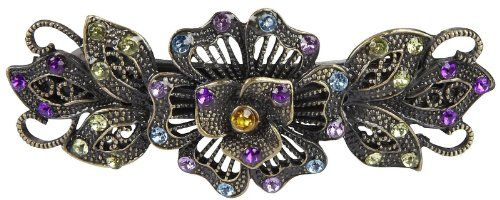 Revlon Hair Accessories Metal Flower Barrette, Clear Revl... http://www.amazon.com.         I also have this one, but I got mine at Walmart.