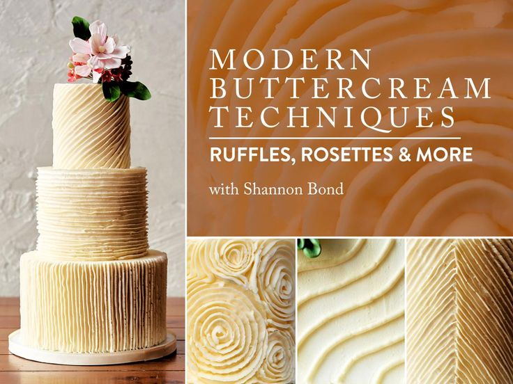 Buttercream Cake Decorating Techniques : Best 25+ Buttercream designs ideas on Pinterest Icing ...