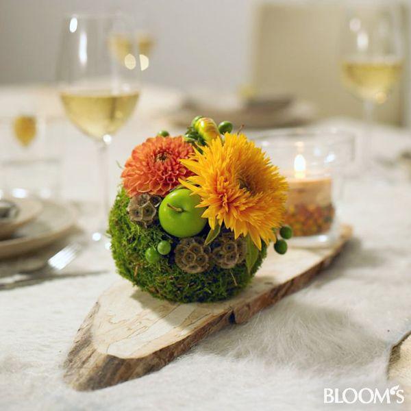 őszi asztali dekoráció (4)