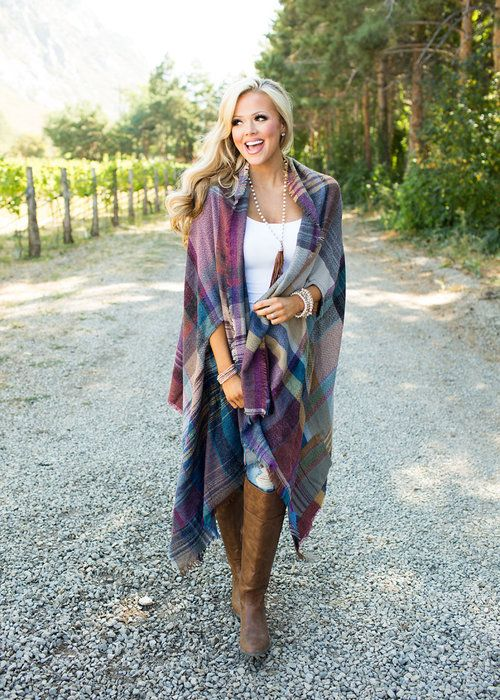 Boutique, Online Boutique, Women's Boutique, Modern Vintage Boutique, Cardigan, Multicolor Cardigan, Plaid Cardigan, Cute, Fashion