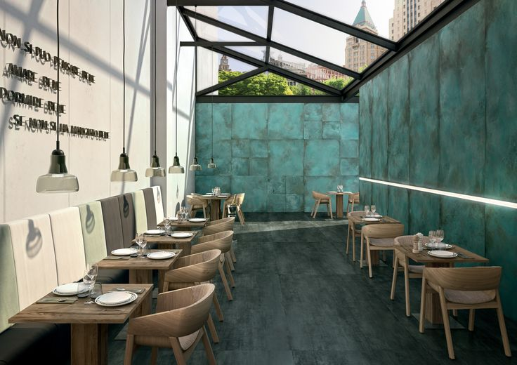 Porcelain stoneware wall/floor tiles with marble effect PROJECT EVOLUTION by Ceramiche Caesar