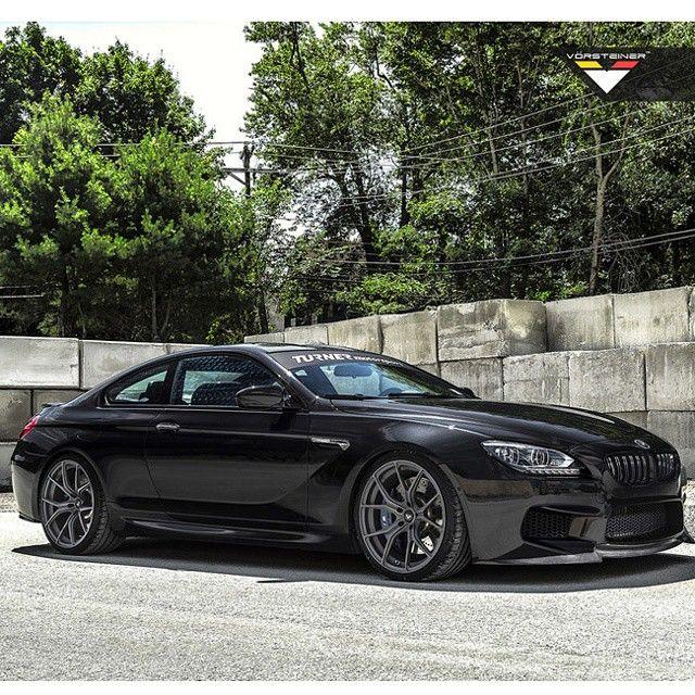 """""""The Vorsteiner Black Sapphire Metallic BMW F13 M6 Built"""